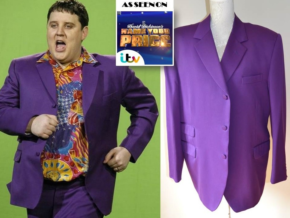 Peter Kay signed Amarillo suit